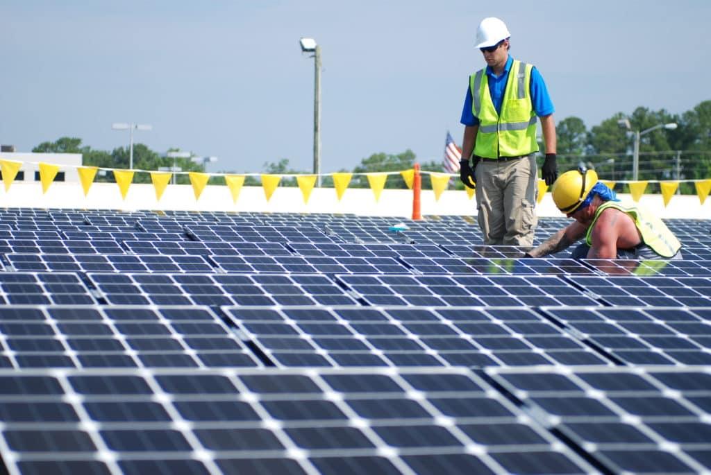 NC-Solar-commercial-installation